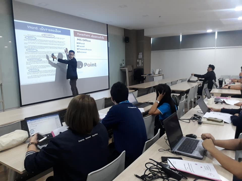 Power Point บรรยากาศการจัดอบรม In-House Training (1)
